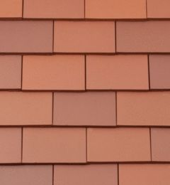 BMI Redland Rosemary Clay Classic Tile and a Half/Gable Tile 80 Red (Smooth) 6509-80