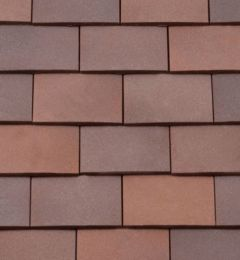 BMI Redland Rosemary Clay Classic Left Hand 90° External Angle Tile 94 Russet Mix (Sanded) 8441-94