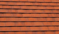 Marley Acme Double Camber Plain Tile Natural Orange (S)