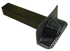 ClassicBond EPDM Angled Roof Drain 100 x 100 x 500mm
