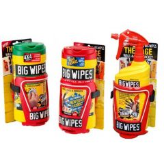 Big Wipes The Cage Van and Wall Bracket