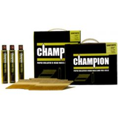 Champion Gun Nails 90mm Galv Annular Ring Shank With Fuel Cells x 2200