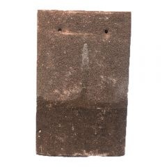 Reclaimed Machine Made Red Concrete Plain Tile (Dark Weathering)