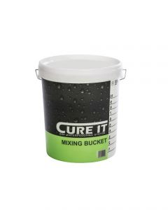 Cure-It GRP Printed Mixing Bucket 10Ltr