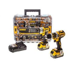 DeWalt Compact Drill and Impact Driver Set - Help For Heroes Edition
