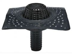 Wallbarn EPDM Special SIPHON Outlet (Perforated Flange) - H250mm - D110mm