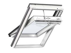 Velux GGU Solar Integra Centre Pivot White Polyurethane Roof Window