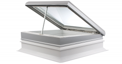 Coxdome Glasslight Electrically Hinged with Upstand