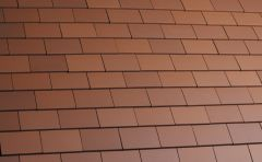 Marley Acme Single Camber Red Smooth (S) Eaves/Top Tile MAKE301CB