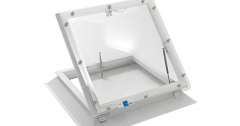 Coxdome Vented Rooftop Access 1000x1500mm Double Skin Obscure Dome