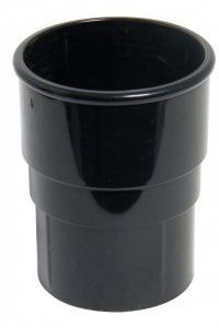 Floplast RS1B Black 68mm Downpipe Connector