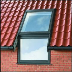 Velux EF_ 0012 Sloping and Vertical Combination Single Flashing