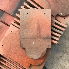 Hawkins Machine Made Clay Plain Club Tile (Light Weathering)