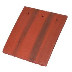 BMI Redland Concrete Tile and a Half/Gable Tile 78 Rustic Red (Coated) 6159-78