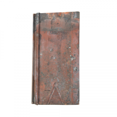 Somerset 13 Clay Reclaimed Roof Tile Front