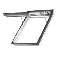 Velux GPU Electric Integra Top Hung White Polyurethane Roof Window