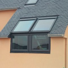 Velux EFW PK08 0022B 940x1400 Sloping and Vertical Combination Twin Flashing for Tiles