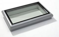 Coxdome Glasslight Fixed without Upstand