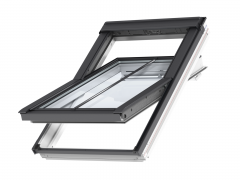 Velux GGL CK06 3570H 550x1180 Lacquered Pine Centre Pivot Conservation Window Only