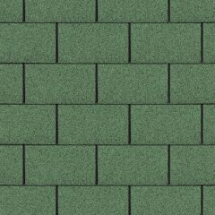 TechnoNICOL Standard Series Square Roof Shingles Green 3m²