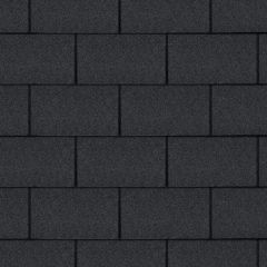 TechnoNICOL Standard Series Square Roof Shingles Black 3m²