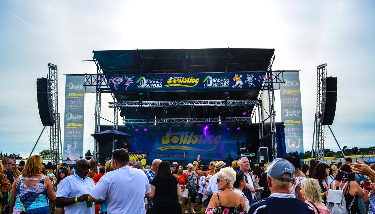 JJ Roofing Supplies Proud To Support Charity Music Festival Summer Soulstice For The 8th Year
