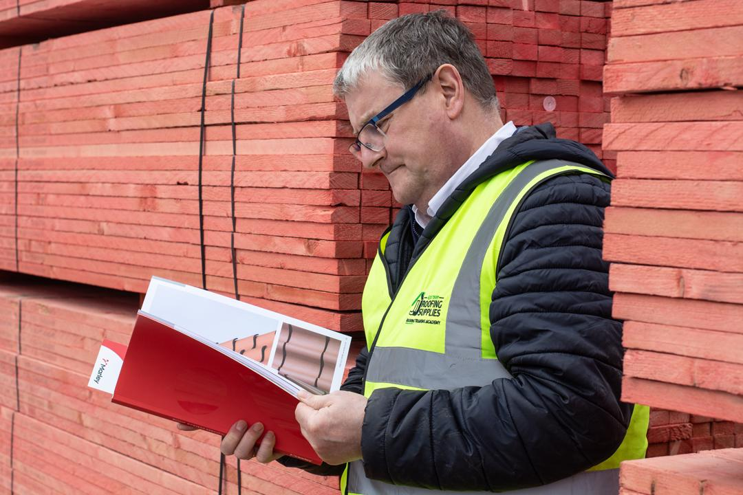It's World Book Day. What do you think Steve's favourite roofing literature is?