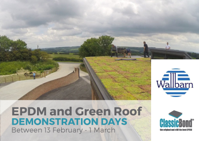 Blog Post 2 - EPDM and Green Roof Demos