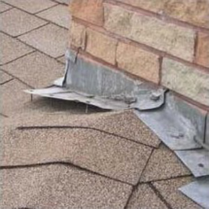 loose roof flashing can lead to leaks