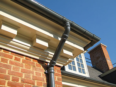 Cast Iron Guttering and downpipe