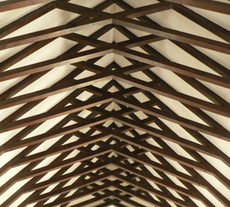Beautiful Rafters at St. Illtyd's Parish Church, Llanharry