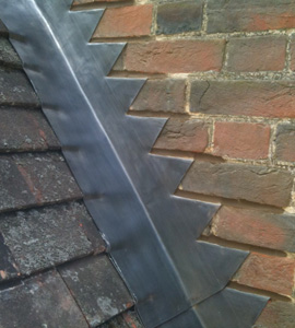excellent lead flashing work by R.S Agace www.oxfordroofer.com