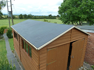 Why Use Epdm On Your Shed Roof Jj Roofing Supplies