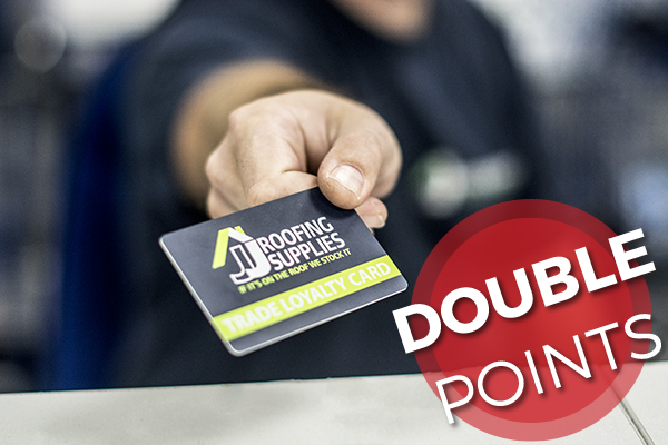 Trade Loyalty Card Double Points