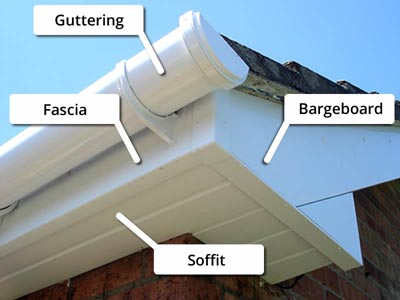 Fascia and Guttering, what are the choices? / JJ Roofing