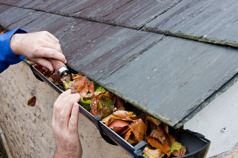 Image result for cleaning gutters