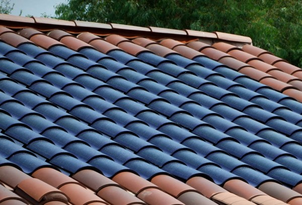 Intergrated Solar Profile Tiles