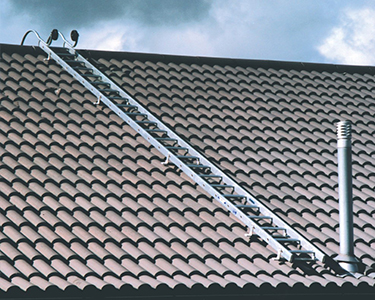 How to work on a roof safely