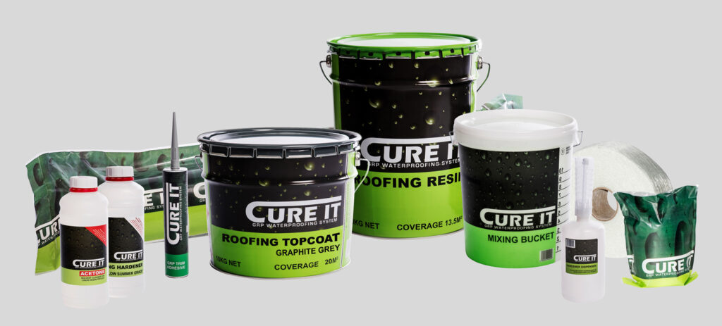 Cure It GRP Flat Roofing Waterproof System