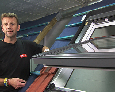 How to install a Velux Integra Electric Roof Window - Part 5