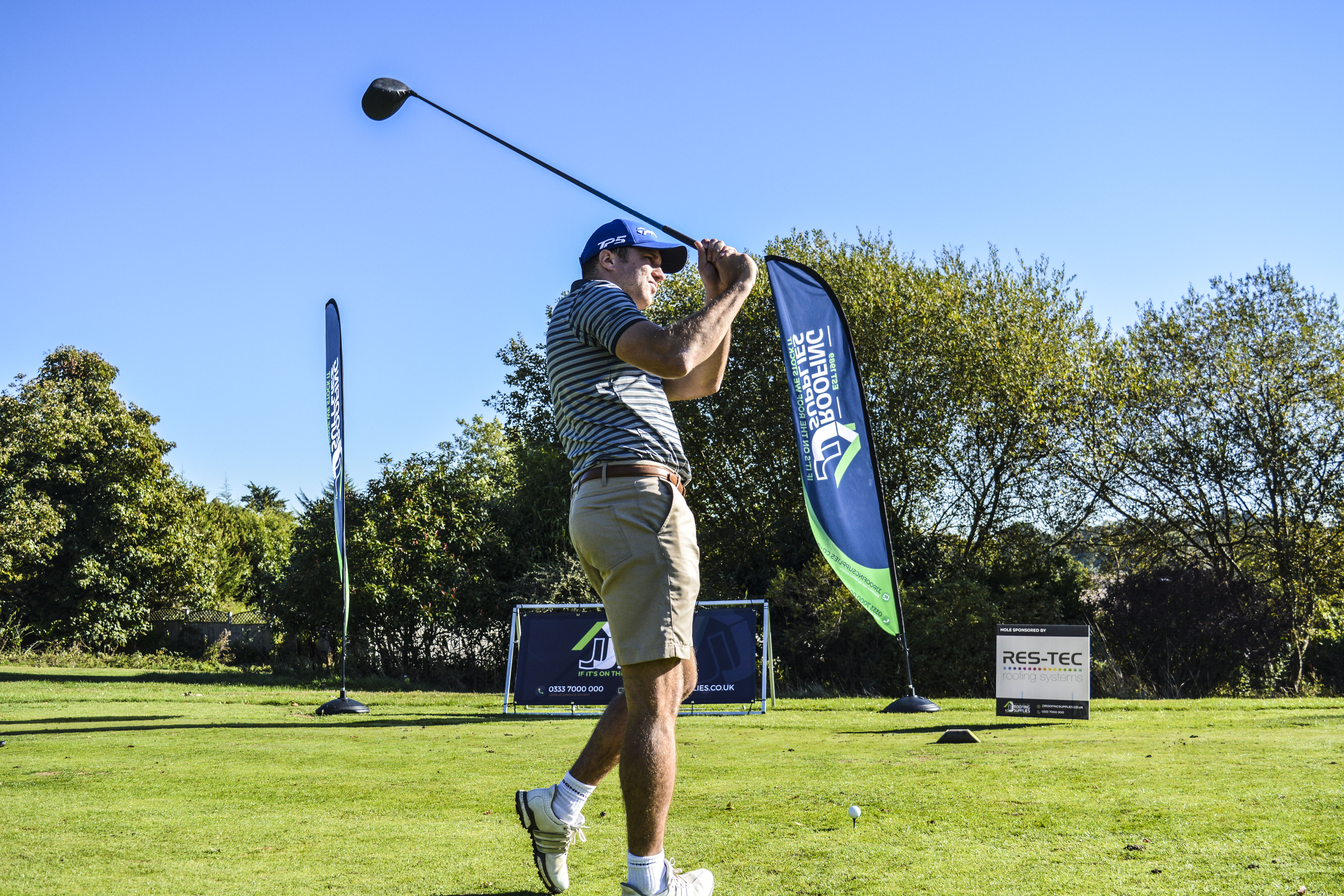 JJ Roofing Supplies Host Key Customer Golf Day