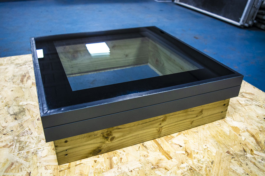 The new Duratech Flat Glass Rooflight launch
