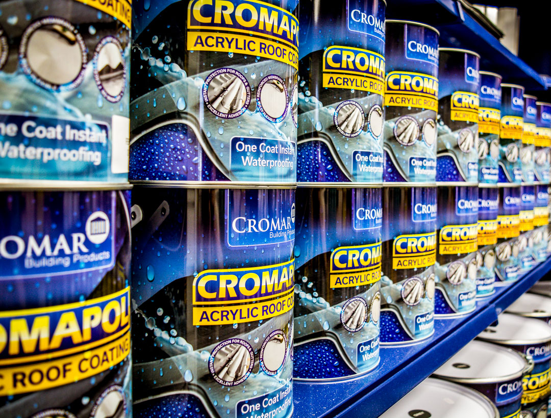 Don't let rain stop play with Cromapol One Coat Instant Waterproofing