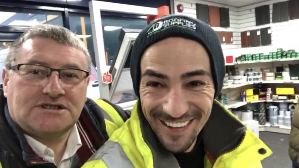 George Vascu entering the JJ Roofing Supplies Beanie Competition 2020