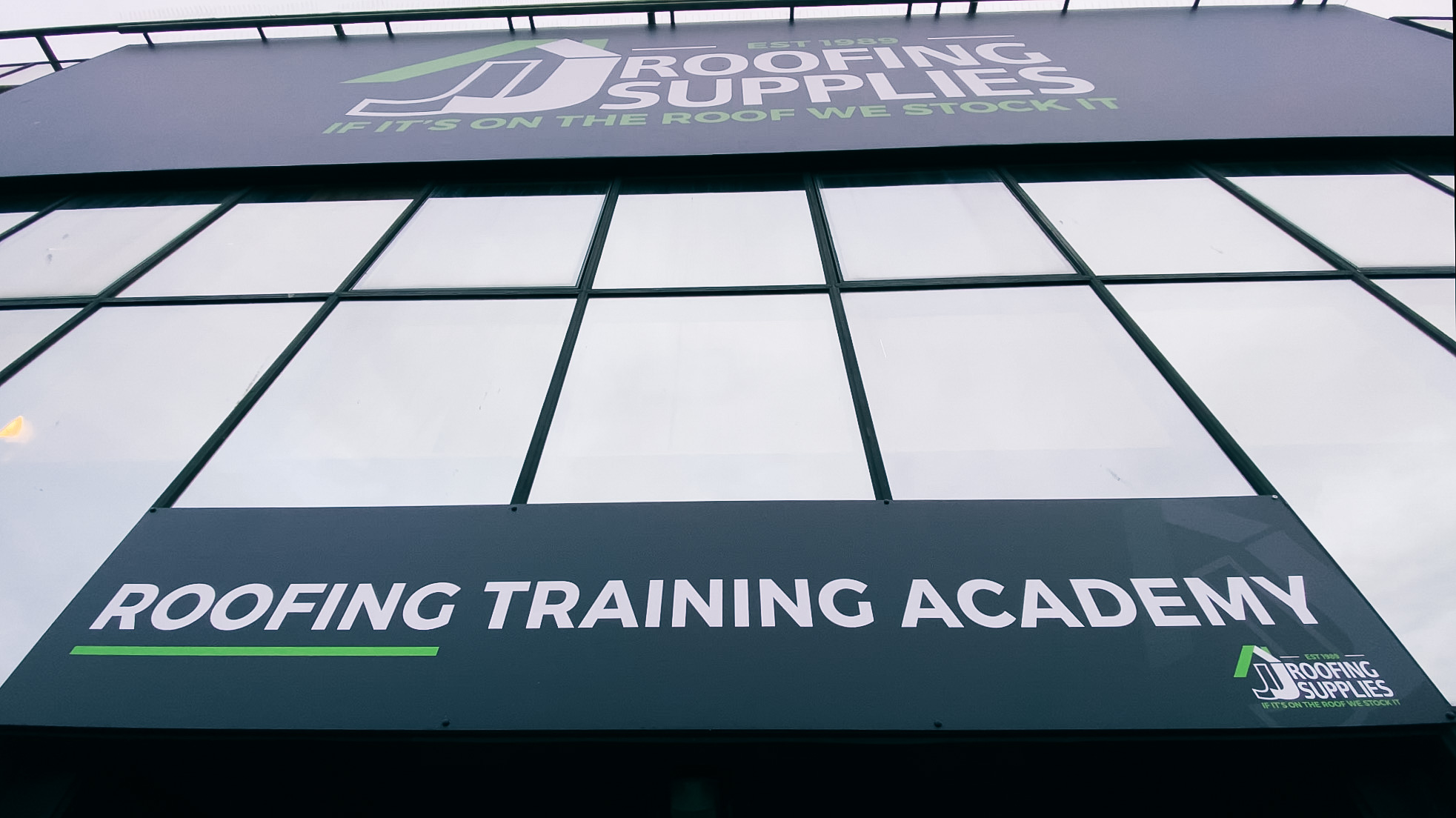 Roofing Training Academy Frontage 2020