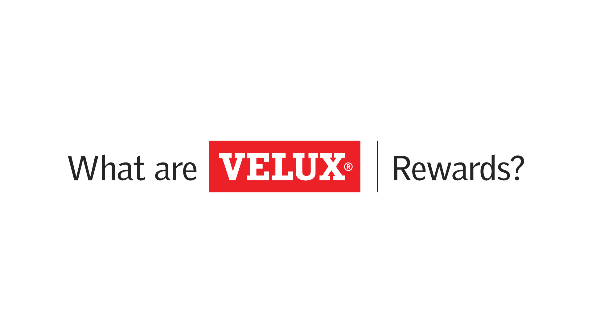What are VELUX Rewards a step by step guide